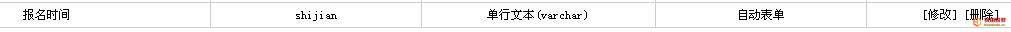 爱上源码网文章dede自定义表单获取填单时间的方法的内容插图