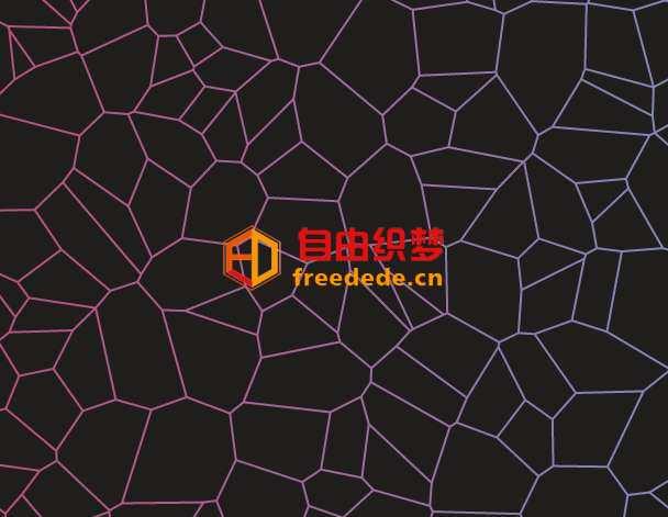 爱上源码网文章html5 canvas网状结构背景动画特效的内容插图