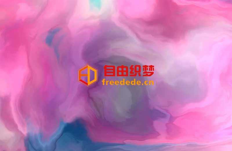 爱上源码网文章three.js酷炫的液态浓雾动画特效的内容插图