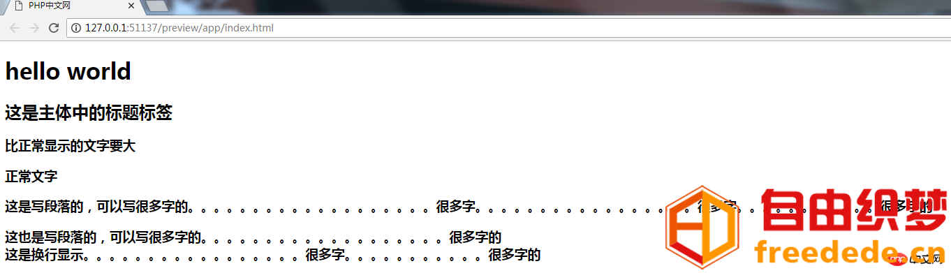 爱上源码网文章html是什么?一个完整的html代码告诉你(完整实例版)的内容插图1