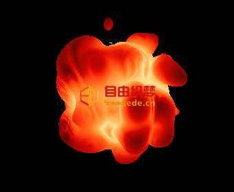 爱上源码网文章html5 canvas熊熊火焰动画特效的内容插图