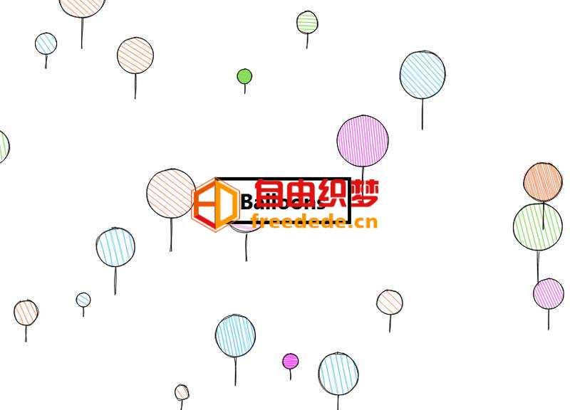 爱上源码网文章html5 canvas告白气球上升背景动画特效的内容插图