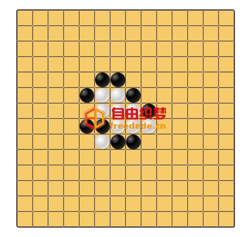 爱上源码网文章html5简易双人五子棋小游戏源码的内容插图