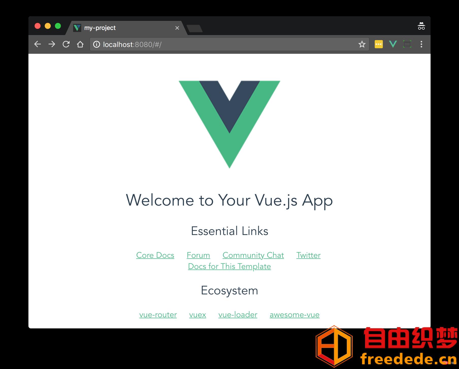 爱上源码网文章5个很棒的Vue.js项目模板的内容插图1