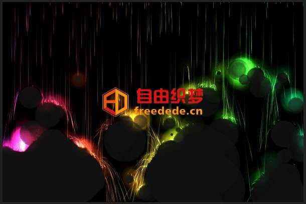 爱上源码网文章酷炫的HTML5画布Canvas火焰风暴动画特效的内容插图