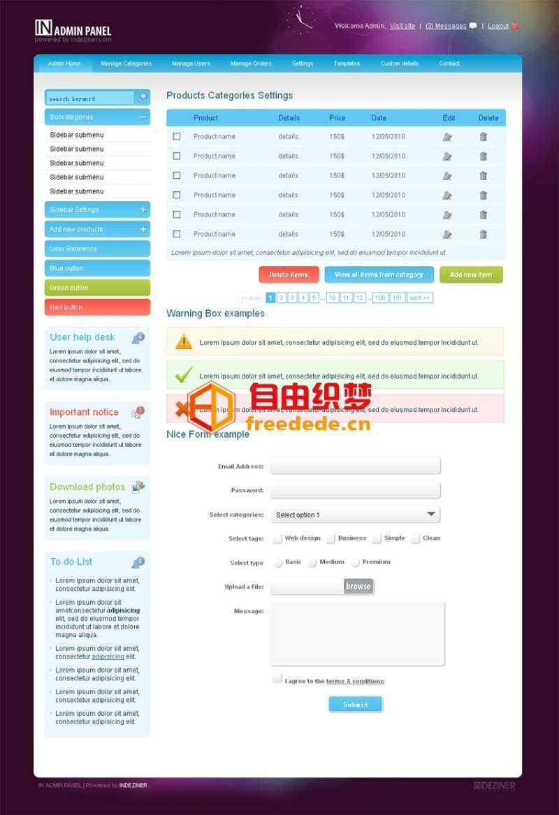 爱上源码网文章欧美风格的cms企业网站后台管理模板html源码下载的内容插图