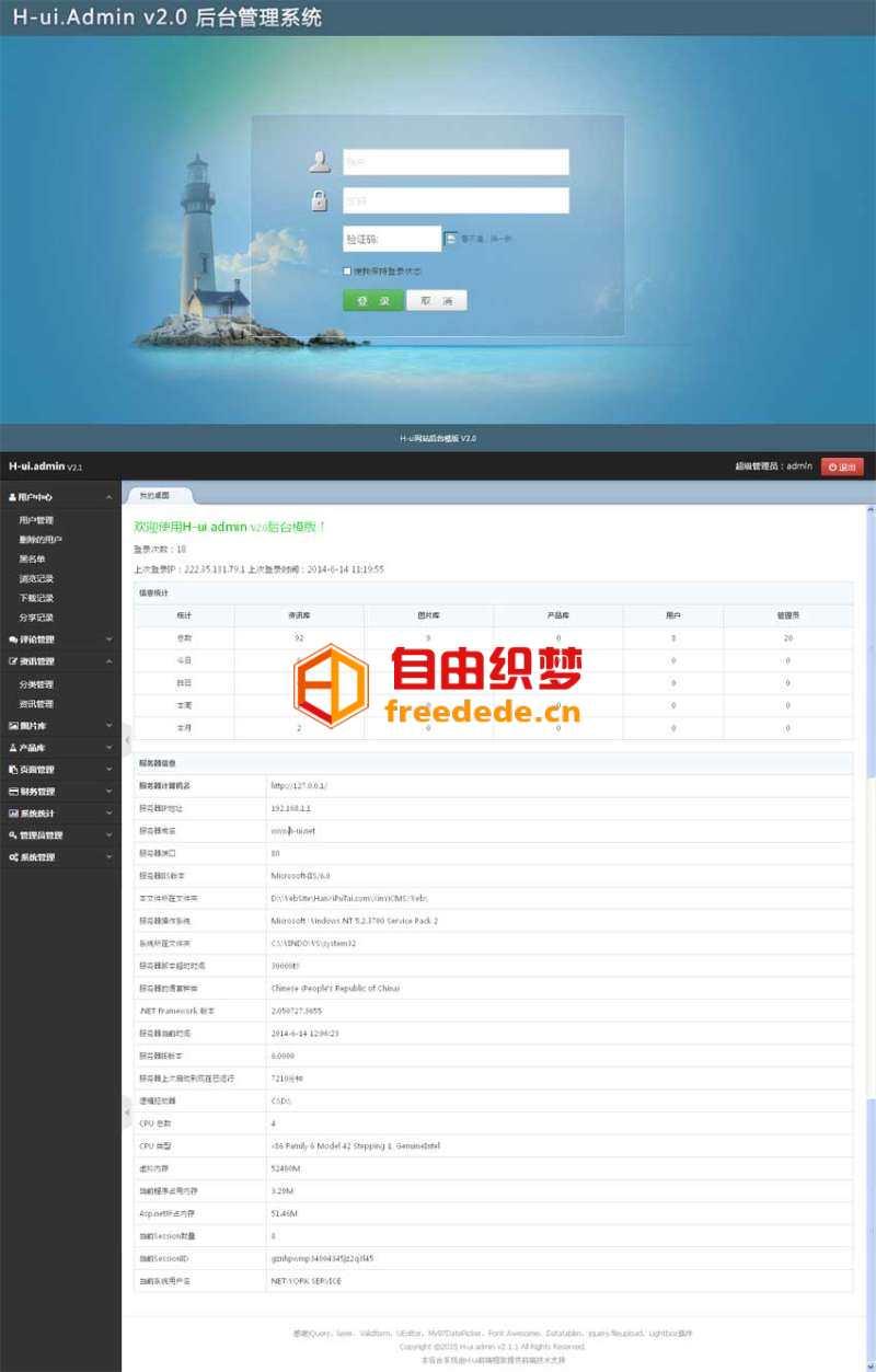 爱上源码网文章实用的cms企业后台管理模板html下载的内容插图