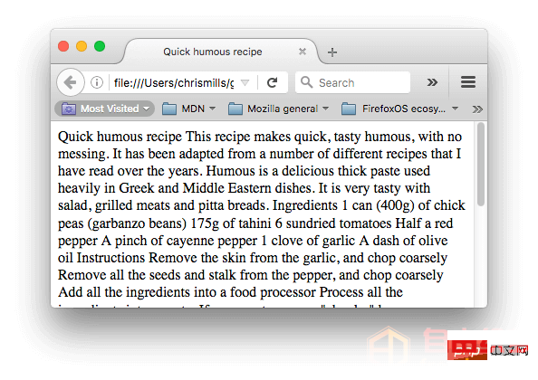 爱上源码网文章HTML基础:文档与网站架构的内容插图2