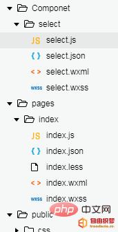 爱上源码网文章微信小程序中自定义select下拉选项框组件的内容插图
