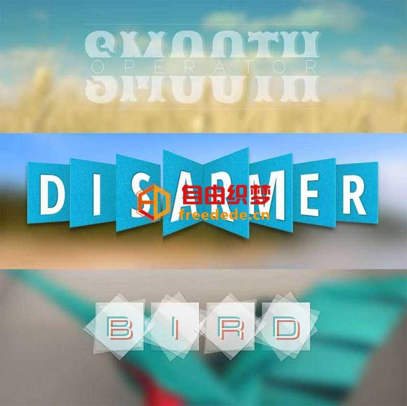 爱上源码网文章html5 css3酷炫的3D文字样式特效的内容插图