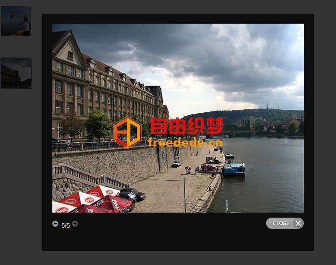 爱上源码网文章jQuery prettyPhoto弹窗插件图片,视频,文本,iframe等弹窗口的内容插图