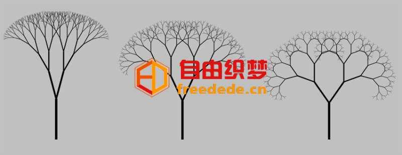 爱上源码网文章HTML5 SVG树生长动画特效的内容插图