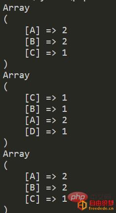 爱上源码网文章php统计2个数据中同时出现的次数最多的单词的内容插图